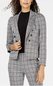 Size 24 Trousers 20 Jacket BNWT Kasper Woman Houndstooth Trouser Suit
