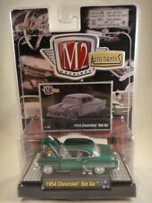 M2 Machines Auto-Thentics 1954 Chevrolet Bel Air Green NEW 1:64 scale