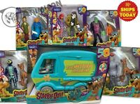 SCOOBY-DOO 50TH ANNIVERSARY Action Figure Mystery Machine Bundle 2 Pk 2019 LOT 6