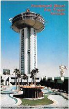 Landmark closed Las Vegas Hotel Casino postcard Mars Attacks & tiki pool Gone a