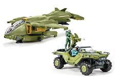 Halo - UNSC Pelican & UNSC Warthog 2er Set Bausatz Modelle mit Licht und Sound