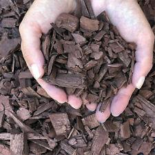 Bark Mulch & Wood Chips Brown Colour 1/2litre(0.1gallon)Decorative