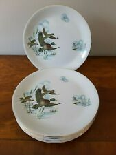 "4   ALFRED MEAKIN 'FENLAND' - FLYING DUCKS  7 3/4""  PLATES"