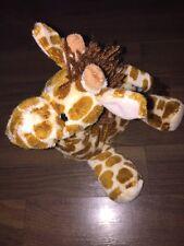 Heunec Giraffe Pferd Kuscheltier Plüschtier Stofftier Schlenker Gelb Braun Mähne