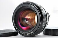 Near mint Nikon New Nikkor 55mm f1.2 Non AI Bright MF w/Cap From Japan F/S #3668