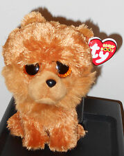 "Ty Beanie Boos ~ Barley the 6"" Chow Chow Dog ~ New with Mint Tags"