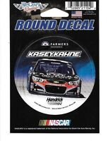 "KASEY KAHNE #5 FARMERS INSURANCE 2015 CAR WINCRAFT 3"" ROUND DECAL STICKER"