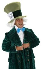 Alice In Wonderland Mad Hatter Adult Costume Hat With Hair Tie Collar Kit Elope