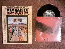 "CARBON 14 #17 zine w/ CONFEDERACY OF SCUM 7""- John Waters *Deniz Tek *Von Franco"
