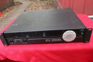 Peavey PV2600 Power Amplifier
