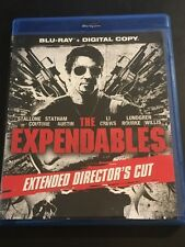 The Expendables (2010) Extended Director's Cut Blu-ray Sylvester Stallone