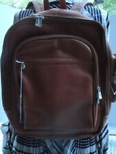 Beautiful New with tag, PIEL Saddle Leather Backpack