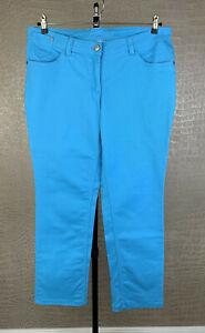 Up2Fashion Damen Gr. 44 Stretch Jeans Hose blau himmelblau Denim trousers 509