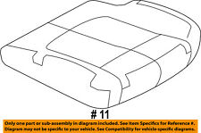FORD OEM 12-13 F-150 Front Seat-Cushion Bottom Cover Left CL3Z1862901GA