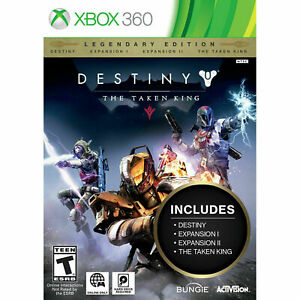 Destiny The Taken King Legendary Edition (XBOX 360) Brand New sealed ships FAST