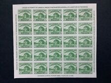 United States stamps, 1933, MNH, 2 mini sheets imperforate