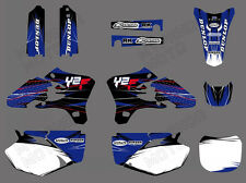 Motorcross Vinyl Stickers Graphics Decals Kit For Yamaha YZ250F YZ450F 2003-2005