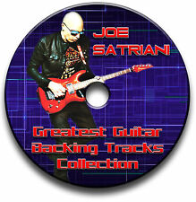 95x JOE SATRIANI STYLE HEAVY ROCK GUITAR MP3 BACKING TRACKS LIBRARY JAM TRAXS
