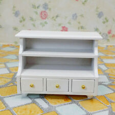 DOLLHOUSE Miniature Furniture wooden Toilet BATHROOM SHELF drawer-Cabinet.AU