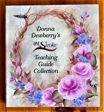 One Stroke Donna Dewberry 48 Reusable Teaching Paint Guides Binder Lot - Unused