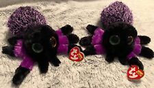 21dad0fb934 Ty Beanie Boos 37248 (2)Creeper the Purple Spiders Boo~NEW~Halloween