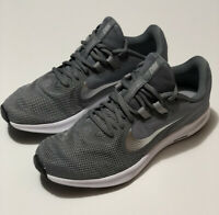 NIKE Downshifter 9 Running Shoes Gray Silver AQ7486-004 WOMENS Size 10