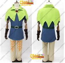 Skyward Sword Legend of Zelda Groose Cosplay Costume with necklace