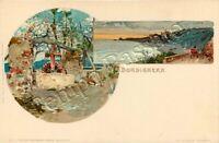 Cartolina di Bordighera, pozzo - Imperia / illustratore Wielandt