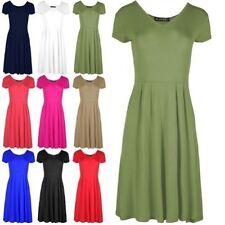 Damenkleider mit Flügelärmeln aus Viskose