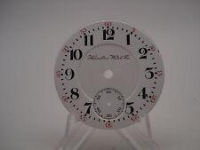 Hamilton 18S Double Sunk Railroad Grade Porcelain Pocket Watch Dial