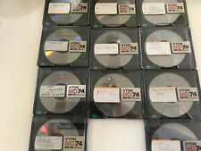 11 TDK XG Recordable MD-74 Digital Audio Minidisc MD, With Cases