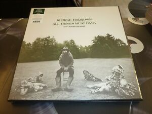 GEORGE HARRISON - ALL THINGS MUST PASS 50th ANNIVERSARY 3LP BOX SET MINT/SEALED