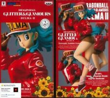 ☀ Dragon Ball DBZ Bulma Banpresto Glitter & Glamours II 2 Figure Figurine Japan☀