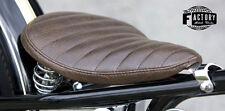 Triumph Harley xs cb 650 Bobber Chopper Solo Seat Frame Hardtail Custom Brown H