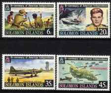 SOLOMON ISLANDS 1976 - SET INDEPENDANCE OF AMERICA MNH