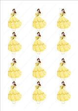 Novità Principessa Disney Belle Torta Commestibili Cupcake Topper Decorazioni Compleanno