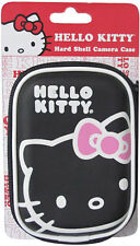 HELLO KITTY HARD CAMERA PHONE CASE POUCH BAG BOX w/ long shoulder neck strap