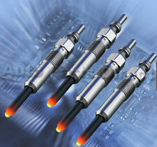 4x GLOW PLUGS FORD ESCORT,FIESTA,MONDEO,COURIER,P100,D