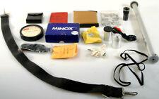 Camera Equip, Misc-Tripod Accs,Straps,Film Cans-Lot/15