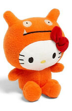 "GUND Hello Kitty X Ugly Doll 7"" Orange WAGE Limited Edition Super Soft Plush NWT"