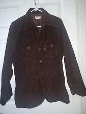Vintage 1960s Levi'S Corduroy Coat Jacket Xl brown button down