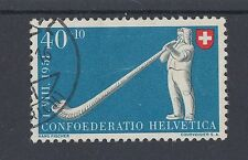 1951 Switzerland used 40c+10c National fete stamp (SG 531)