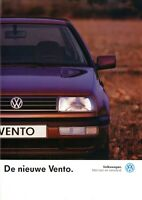 1 VW Vento Prospekt NL 1992 1/92 dutch brochure catalogue prospectus broszura