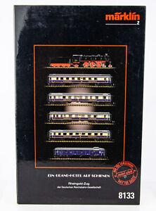 Rare Vintage Marklin Mini-Club 8133 German Z Scale Rheingold Express Train Set