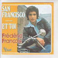 "Frédéric FRANCOIS Vinyle 45T 7"" SAN FRANCISCO Harley Davidson VOGUE 140161"