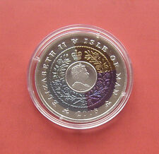 Isle of man 2008 International year of Planet Earth Crown Ti+Ag Proof Coin