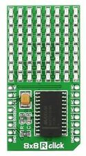 8x8 Red LED Matrix mikroBUS Module, MAX7219 (8x8 R click))