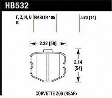 Hawk Perf HB532R.570 Disc Brake Pad for Chevrolet