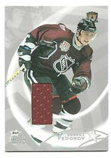 2002-03 BAP ITG ALL STAR EDITION - SERGEI FEDOROV - GAME WORN JERSEY / SILVER 30