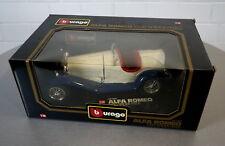 Burago 1/18 Alfa Romeo 2300 Spider (1932) -3008- Die-Cast Scale Modell Auto OVP